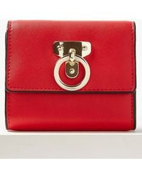 Marks & Spencer - Faux Leather Ring Detail Purse - Lyst