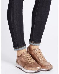 Marks & Spencer - Lace-up Trainers - Lyst