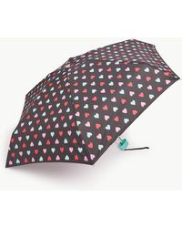 Marks & Spencer - Heart Print Compact Umbrella - Lyst