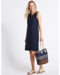 Marks & Spencer - Nautical Shopper Bag - Lyst