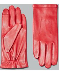 Marks & Spencer - Leather Stitch Detail Gloves - Lyst