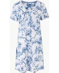 Marks & Spencer - Cool Comforttm Floral Short Nightdress - Lyst