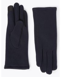 Marks & Spencer - Warm Lined Gloves Navy - Lyst