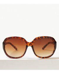 b1f742865c Marks   Spencer - Laguna Wrap Around Oval Sunglasses - Lyst