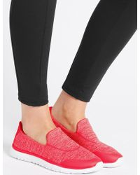 Marks & Spencer - Slip-on Trainers - Lyst