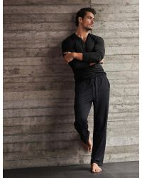 Marks & Spencer - Slim Fit Supersoft Pyjama Bottoms - Lyst