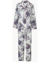 346a5edb1c Marks & Spencer - Floral Revere Collar Pyjama Set - Lyst
