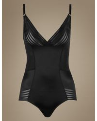 Marks & Spencer - Firm Control No Vpl Wear Your Own Bra Body - Lyst