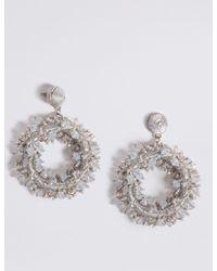 Marks & Spencer - Tinsel Drop Earrings - Lyst