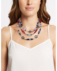 Marks & Spencer - Horizon Multi Collar Necklace - Lyst