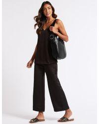 Marks & Spencer - Leather Hobo Bag - Lyst