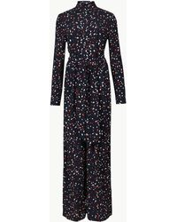 Marks & Spencer - Printed Long Sleeve Jumpsuit - Lyst