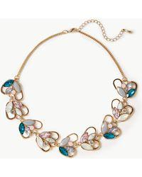 Marks & Spencer - Sparkle Leaf Necklace - Lyst