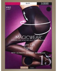 Marks & Spencer - 15 Denier Magicweartm Matt Body Shaper Tights - Lyst