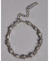 Marks & Spencer - Sparkle Trail Bracelet Made With Swarovski® Elements - Lyst
