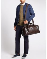 Marks & Spencer | Casual Leather Holdall | Lyst