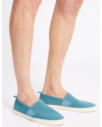 Marks & Spencer - Cupped Slip-on Pump - Lyst