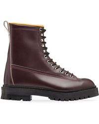 Marni - Calfskin Half Boot With Contrasting Lining - Lyst