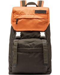 Marni - Backpack In Two-tone Nylon - Lyst