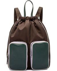 Marni - Backpack In Technical Nylon - Lyst