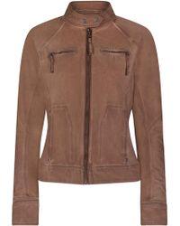 Marrakech - Freya Textured Moto Jacket - Lyst