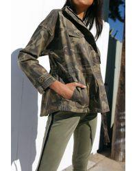 Marrakech - Harper Camo Anorak Jacket - Lyst