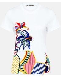 Mary Katrantzou - Iven T-shirt Pop Art - Lyst