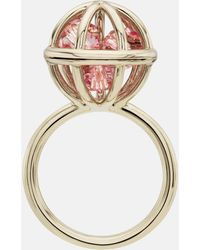Mary Katrantzou - Nostalgia Sphere Ring Light Rose - Lyst