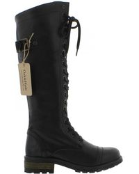 Oak & Hyde - Bridge 18 Tall Leather Boots - Lyst