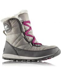 Sorel | Whitney Short Lace Waterproof Ankle Boots | Lyst