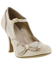 Ruby Shoo - Maria Vegan Bridal Wedding Court Shoes - Lyst