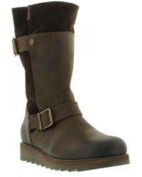 Oak & Hyde - Coast Demi Zip Up Mid Calf Boots - Lyst