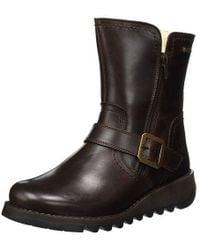 Fly London - Seku Gtx Waterproof Warm Lined Leather Boots - Lyst