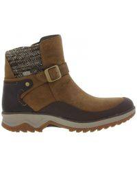 Merrell - Eventyr Strap Waterproof Zip Up Ankle Boots - Lyst