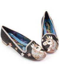 Irregular Choice - Loosen The Reins Unicorn Court Shoes - Lyst