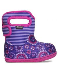 Bogs - Infants Baby Fur Lined Wellington Boots - Lyst