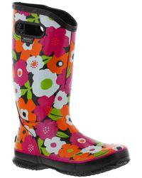 Bogs - Rainboot Spring Flowers Wellys - Black Multi - Lyst