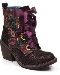 Irregular Choice - Quick Getaway Ankle Boots - Lyst