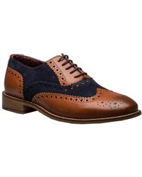 On sale London Brogues - Gatsby Leather Wingtip Brogue Shoes - Lyst 202923f363