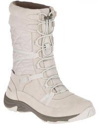 Merrell - Approach Tall Waterproof Walking Snow Boots - Lyst