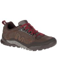 Merrell - Annex Trak Leather Walking Trainers Shoes - Lyst