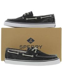 Sperry Top-Sider - Bahama Canvas Boat Deck Shoes - Lyst
