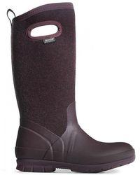 Bogs - Crandall Tall Wool Wellington Boots - Lyst