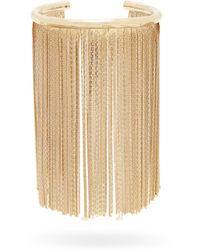 Givenchy - Chain-fringe Logo Cuff - Lyst