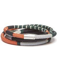 Pleats Please Issey Miyake - Striped Cord Belt - Lyst