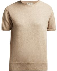 CONNOLLY - Short Sleeved Cashmere Jumper - Lyst