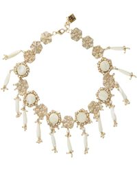 Rosantica By Michela Panero - Corte Pearl-embellished Necklace - Lyst