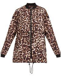 The Upside - Leopard Print Jacket - Lyst