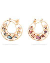 Marie Mas - Dancing Creole Multi-stone 18kt Rose-gold Earrings - Lyst