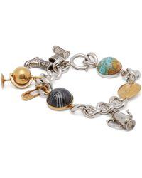 Burberry - Charm Bracelet - Lyst